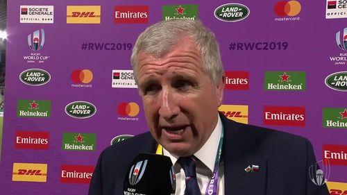 Jones post match performance
