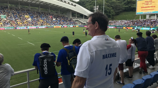 France - Alain Medard supporting son Maxime Medard