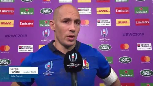 Parisse speaks after tough loss to South Africa