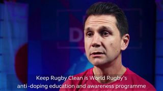 Rugby World Cup stars unite to support #KeepRugbyClean initiative