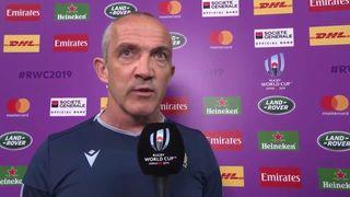 O'Shea post match interview