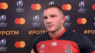Sam Underhill wins Mastercard Player of the Match against Argentina