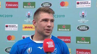 Johan Deysel gives honest post match interview