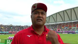 Tonga head coach Toutai Kefu