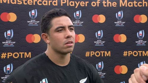 Lienert-Brown wins Mastercard Player of the Match