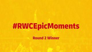 RWC Epic Moments: Gareth Davies wins round two