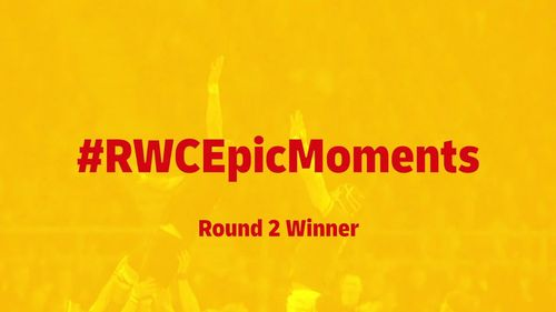 RWC Epic Moments: Gareth Davies wins round two