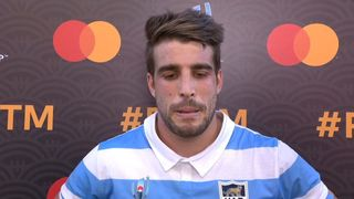 Juan Cruz Mallia wins Mastercard Player of the Match for Argentina