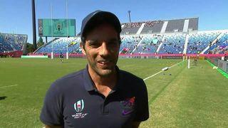 Argentina assistant coach Martín Gaitán