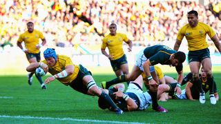 James Horwill - RSA v AUS