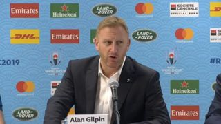 RWC 2019 TOURNAMENT DIRECTOR ALAN GILPIN ON TYPHOON DECISIONS