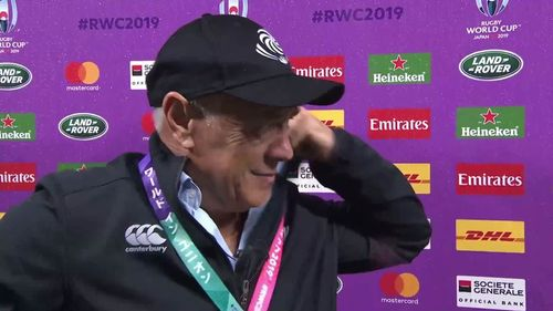 Milton Haig's last post match interview for Georgia