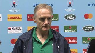 Schmidt praises fans after Ireland secured QF spot