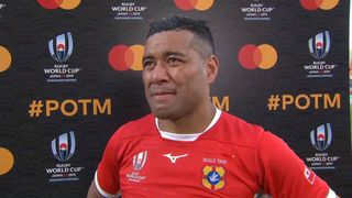 Siale Piutau wins Mastercard Player of the Match for Tonga