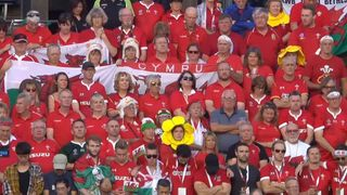 A moment's silence observed ahead of Wales v Uruguay
