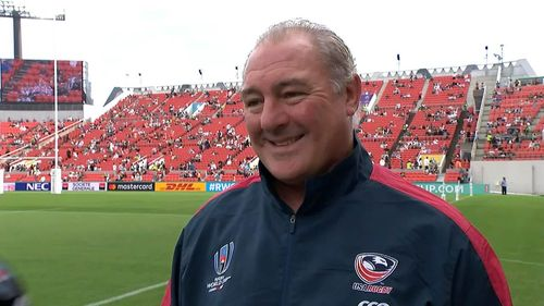 USA head coach Gary Gold previews USA v Tonga