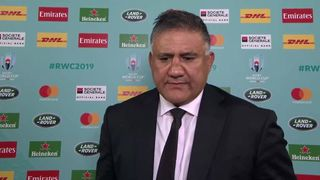 Japan Coach Jamie Joseph on historic win for host nation