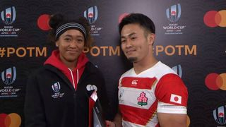 Kenki Fukuoka wins Mastercard Player of the Match for Japan