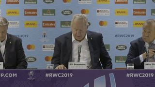 World Rugby Chairman, Bill Beaumont