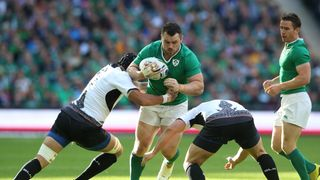 Cian Healy vs Romania 2015