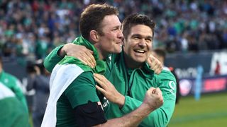 two IRE celebrate