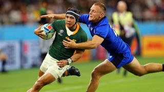 South Africa vs Italy - Kolbe and Braley