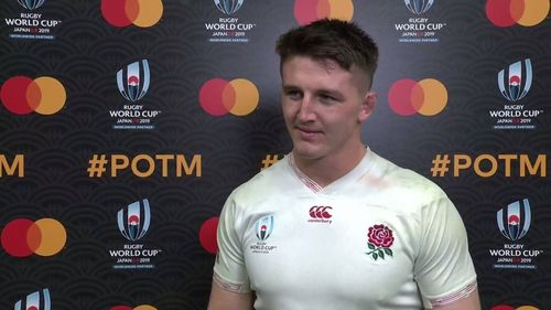 Mastercard player of the match interview - Tom Curry