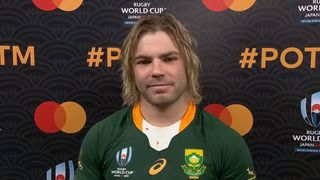 Faf De Klerk: Mastercard Player of the Match