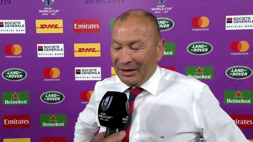 Eddie Jones reflects on England win v New Zealand