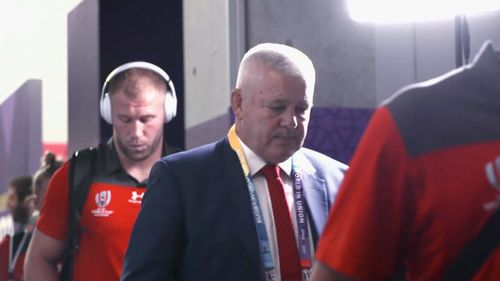 Gatland previews semi-final against South Africa