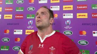 Wales Captain Alun Wyn Jones on a difficult defeat to Springboks