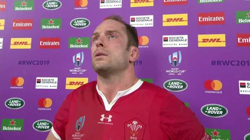 Wales Captain Alun Wyn Jones on a difficult defeat to Springboks