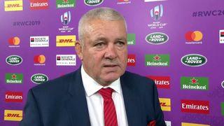 Wales Coach Warren Gatland reacts to tough semi final loss