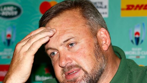 Rugby World Cup 2019: South Africa Media Conference