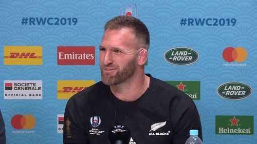 Kieran Read on playing his last match with the All Blacks