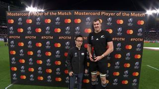 Brodie Retallick wins Mastercard Player of the Match