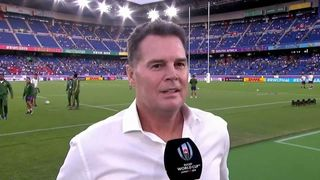 Rassie Erasmus on World Cup final with England