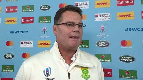 Rassie Erasmus Interview after winning the Rugby World Cup