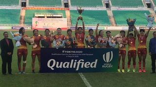 China women - Asia Rugby Tokyo 2020 Olympic qualification winners