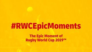 The Epic Moment of the Rugby World Cup 2019