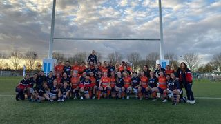 Netherlands and Hong Kong women's 15s