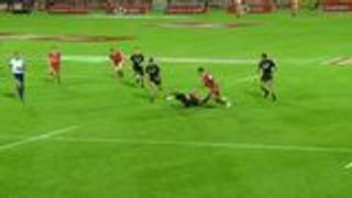 New Zealand brilliant offloading try