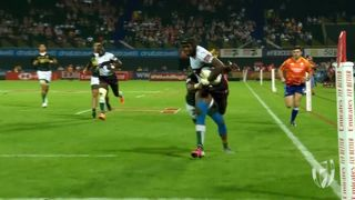 Day One highlights of the men's HSBC World Rugby Sevens Series
