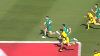 Ireland score clutch winner to upset Australia