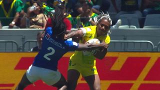 UL Mark of Excellence: Ellia Green breaks Australia try record
