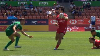 Canada score try with some beautiful offloading