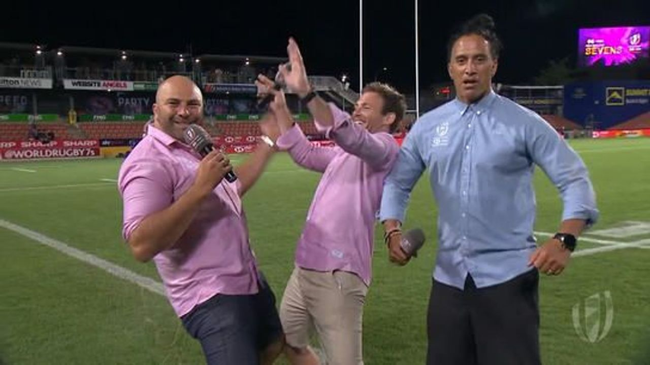 The Big 3 moments from the HSBC NZ Sevens