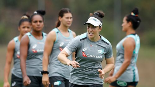 Emilee Cherry ahead of Sydney Sevens
