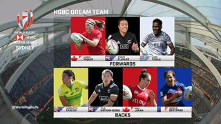 Women's Dream Team at the HSBC Sydney Sevens