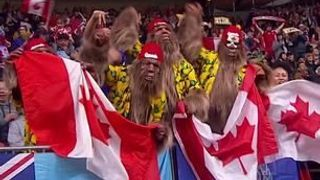 Canada reach a home semi